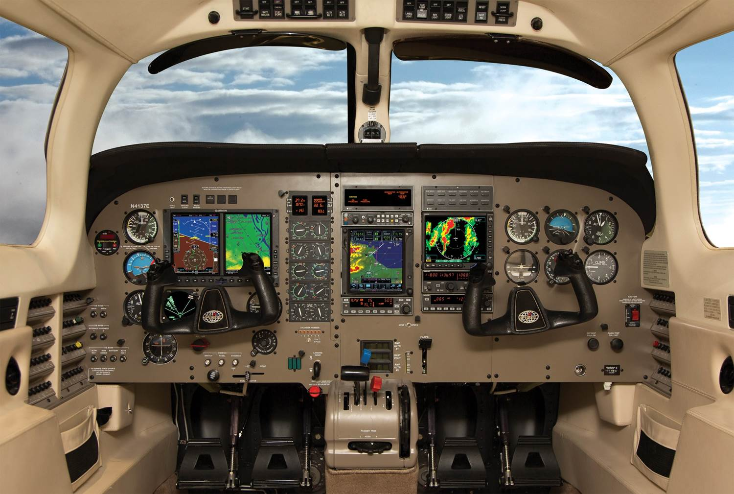 custom panels avionics installations