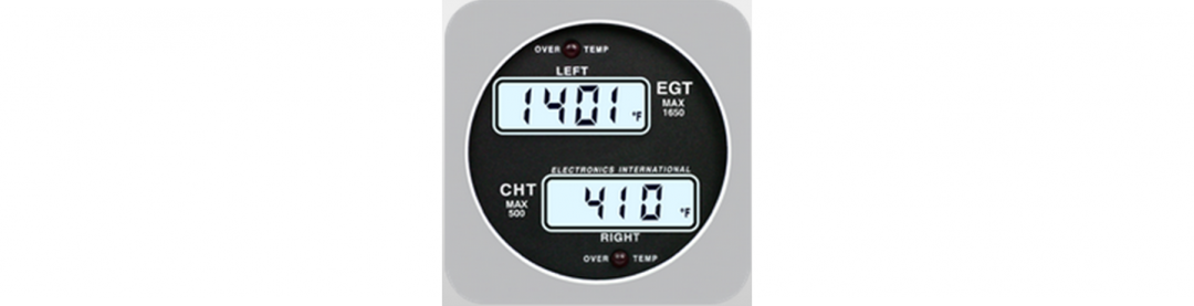 Single Channel EGT/CHT Indicator