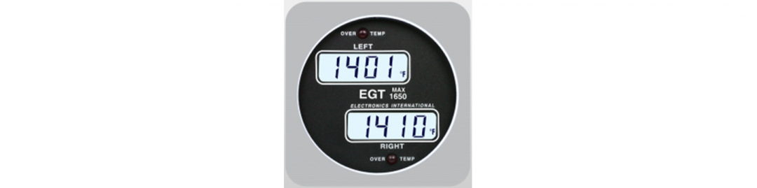 Dual Channel EGT Indicator