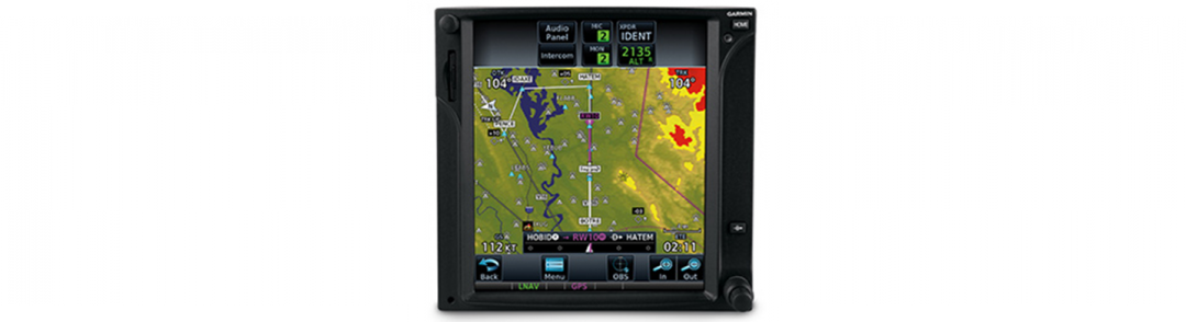 Touchscreen GPS/MFD