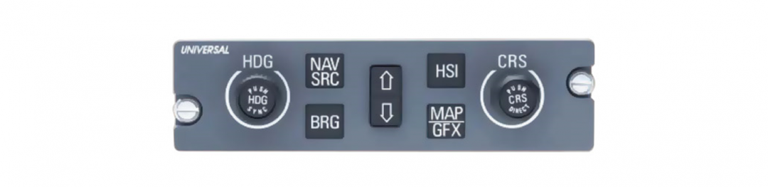 Dual Course/Heading Control Panel