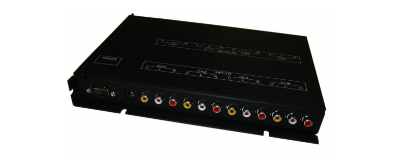 Audio/Video Distribution Amp