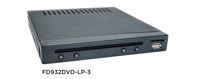 Low Profile DVD and Multi-Media Disc Player
