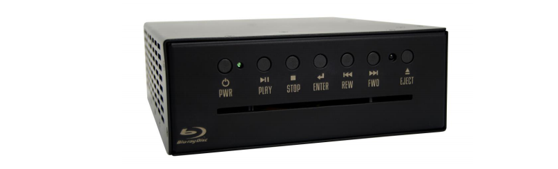 Blu-ray and DVD/CD/MP3 Player