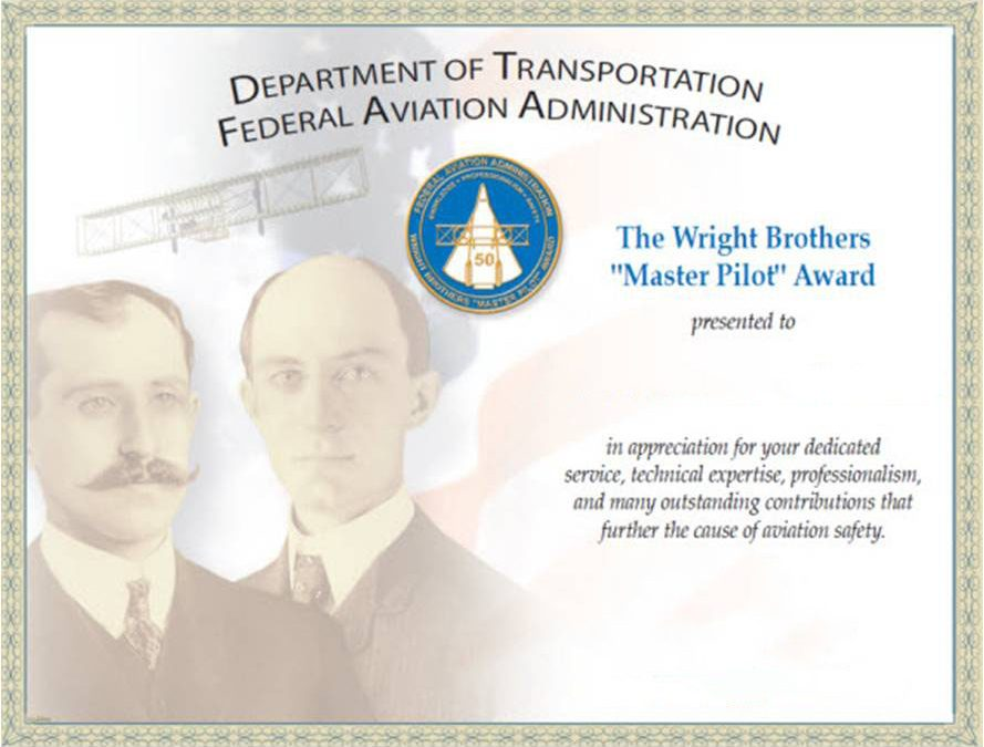 Wright Brothers Award Ceremony at PGD