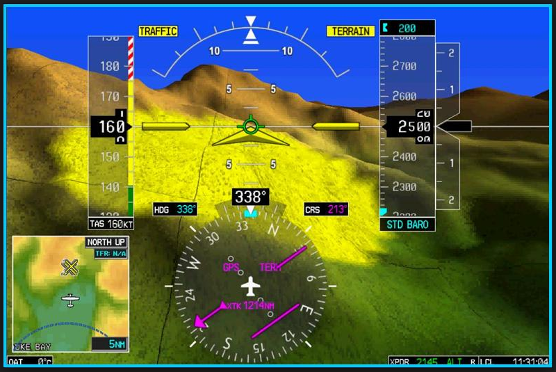 Avidyne adds Synthetic Vision to it's IFD series