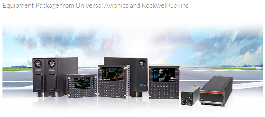 Universal Avionics and Rockwell Collins Offer ADS-B System