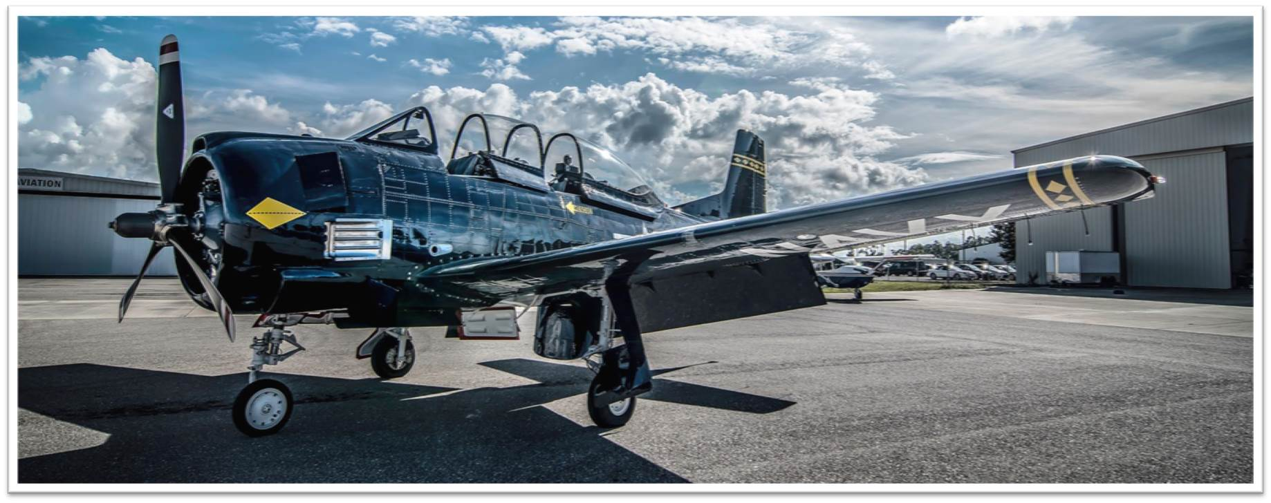 T28 taken by Peace River Photography at APG Avionics