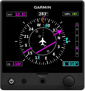 Garmin® introduces the G5 electronic flight instrument as a DG/HSI in certificated aircraft