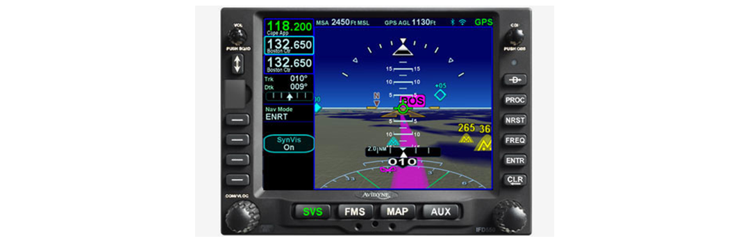Touch Screen FMS/GPS/NAV/COM