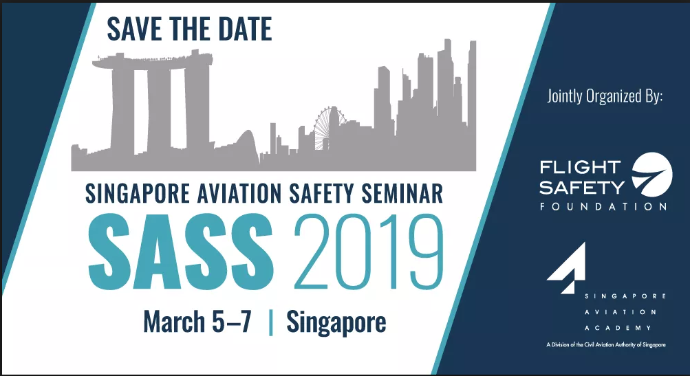 5TH ANNUAL SINGAPORE AVIATION SAFETY SEMINAR @ Singapore Aviation Academy
