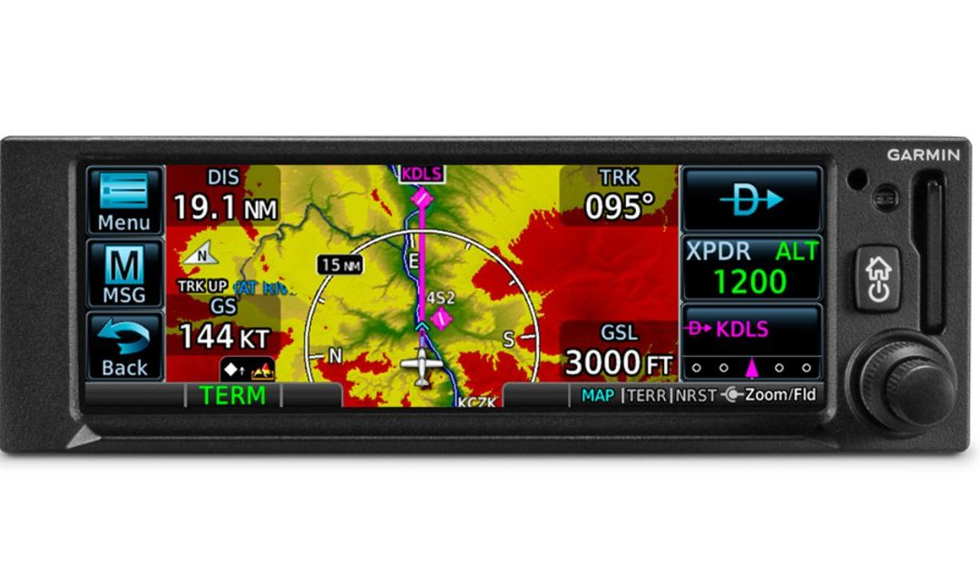 Garmin Rolls Out Two New Panel GPS Navigators